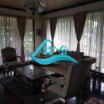 villa puncak kolam renang pribadi