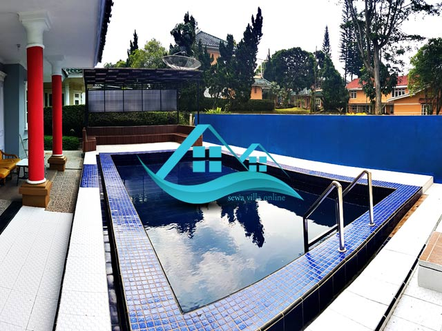 villa resort puncak private pool