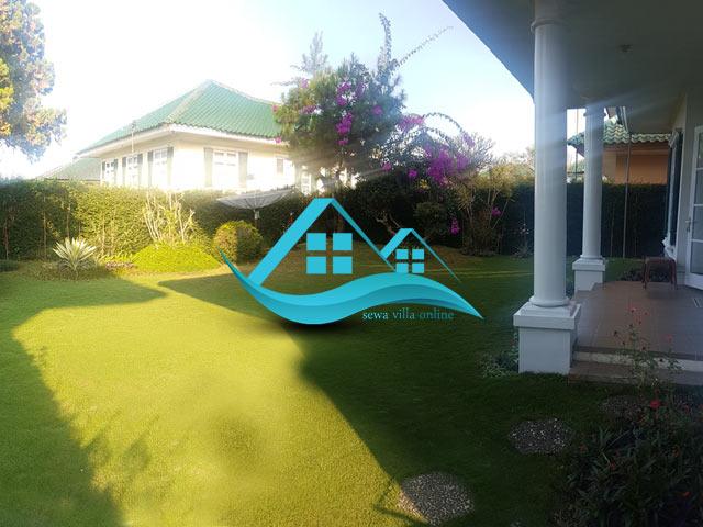 villa puncak resort yang di sewakan