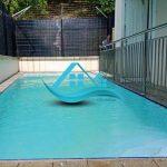 villa kota bunga kolam renang
